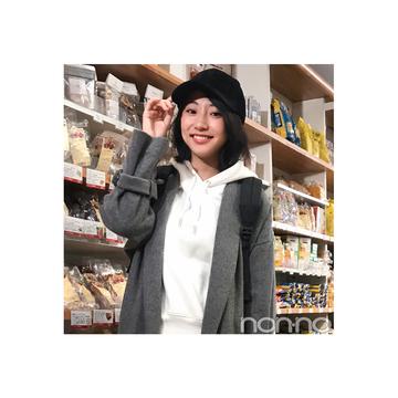武田玲奈が着る足元でレディにはずすカジュアルコーデ【毎日コーデ】