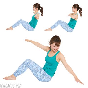 1日5分でOK! 体幹トレーニングダイエットのやりかた教えます★専属読モが実践!