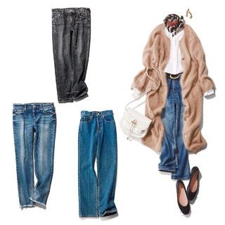 40代の体型にぴったりなデニム&コーデ【2020年冬レディースファッション】