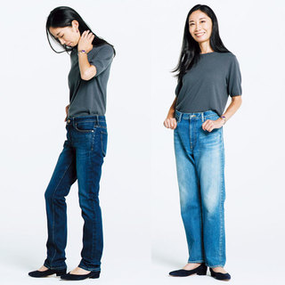 私にぴったりの一本を探して! 噂のデニムを美女組さんが履き比べてみました