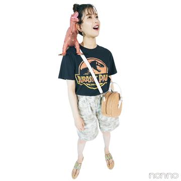 【#渡邉理佐の毎日Tシャツ】7/17は「『ジュラシック・パーク』日本公開日」