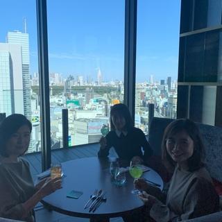 渋谷が大人の街に変貌!渋谷フクラス18階のセラビで美女組ランチ_1_5-2