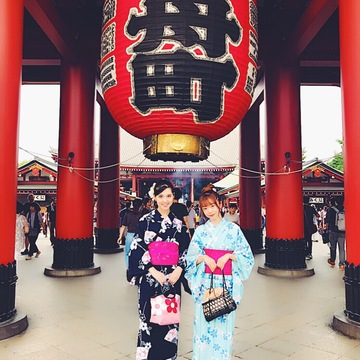 Vol.20♡ 女子大生の浴衣で浅草観光・散策プラン