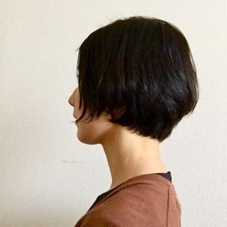 ショートヘア。オーダーって難しい。