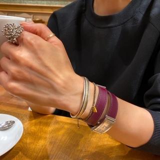 フランス発の着せ替え時計でブラウンコーデ☆_1_7