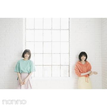 西野七瀬&渡邉理佐の坂道対談♡  初のペア表紙撮影の秘話を公開!