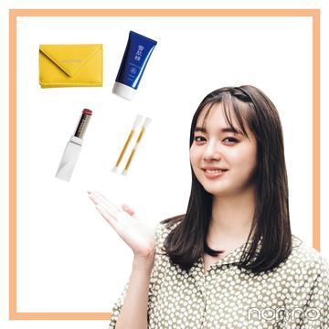 新川優愛のバッグの中身★ ミニ財布、リップからスマホの中まで公開!