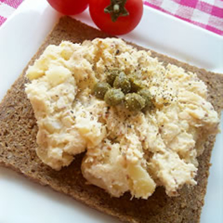 おしゃれに美味しく!ツナとポテトのライ麦オープンサンドレシピ