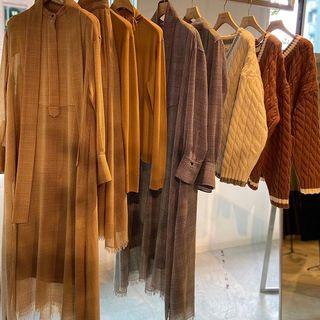 ebure(エブール)の秋冬展示会へ。2020年秋冬の足元はロングブーツがおすすめ!