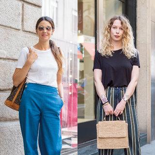 大人の「Tシャツ」は白と黒があればいい【ファッションSNAP パリ・ミラノ編】