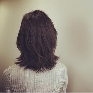 春服に合う髪型。イメージチェンジのキーワードは「厚めの外ハネ」!_1_2-2