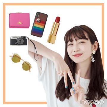 岡本夏美のバッグとスマホの中身を大公開!