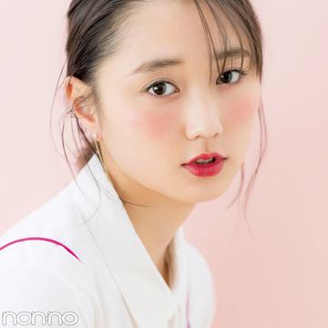 おすすめは透け赤のクリームチーク★春は大人っぽおしゃれ顔が好印象!