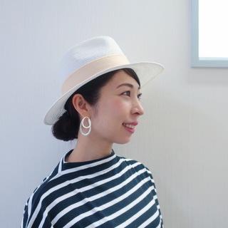 帽子のおしゃれを楽しめる季節になりました♡