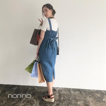 新木優子はコスパ最高のデニムセットアップでお出かけコーデ!【毎日コーデ】