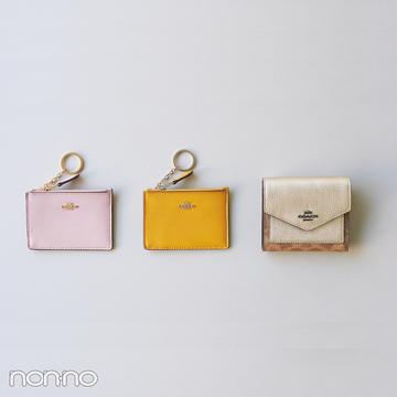 春の始まりにピッタリ! かしこ可愛いコーチのミニ財布【20歳からの名品】