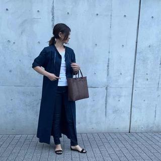 肌寒い日にも使えます♡シャツワンピースは、確実にトレンド感が出せるアイテム!