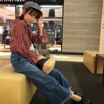 秋の通学コーデ♪( ´▽`)