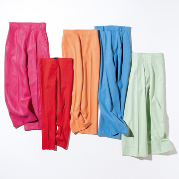 最旬「きれい色パンツ」で即着こなし上手に!【瞬間着映え服でおしゃれに】