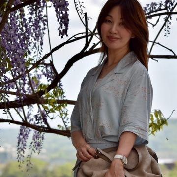 津山鶴山公園 藤~ UNIQLO×イネス・ド・ラ・フレサンジュで初夏スタイル