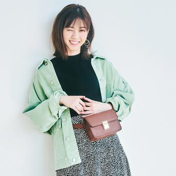 西野七瀬が秋のトレンド「ハンサムスカート」をはき比べ!