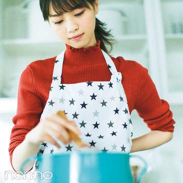 ノンノモデル西野七瀬のアイディアレシピ③「納豆団子のコクうまスープ」