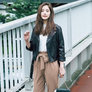 新木優子がダズリンの秋アウターを10倍可愛く着回し!