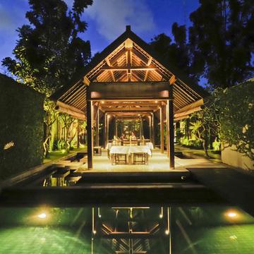 全ての場所で景色が違う ランドスケープの妙 ザ アマラ【インドネシアのお薦めホテル】