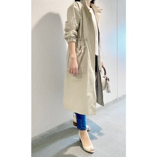 STORYNINE】スタンドカラーのスプリングコート