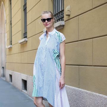 新感覚のおしゃれを楽しむ、ミラネーゼの夏ファッションスナップ 五選