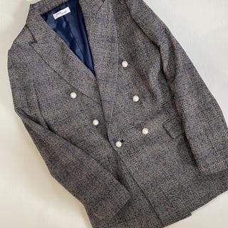 【セール戦利品④】春まで使えるパールボタンジャケット