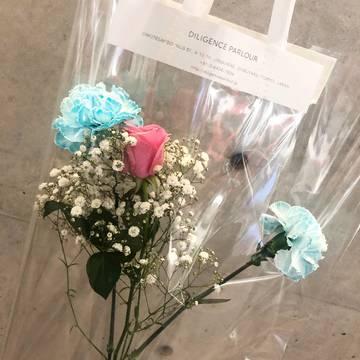 Vol.79♡ クリアバッグがおしゃれ!表参道にある花屋【DILIGENCE PARLOUR】