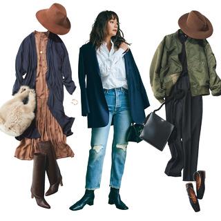 10月〜11月の肌寒い時季にぴったり!3大軽アウターのはおりコーデまとめ【40代 秋トレンド】