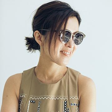 Q.日本人でもかっこよく見えるサングラスの選び方は?【大草直子の夏のファッション相談室】