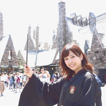 USJでホグワーツ魔法魔術学校に入校!