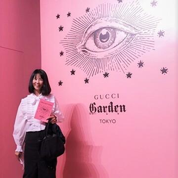 Gucci 創設100周年 感動のアート イベントです
