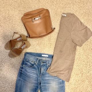 夏のTシャツコーデ