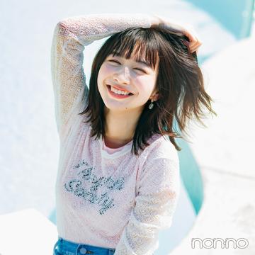 【おうち時間のおしゃれ】Tシャツ_コーデ_女っぽで検索!