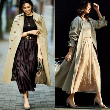 【春の華やぎスカート5選】スカートで大人の装いをぐっとランクアップ!
