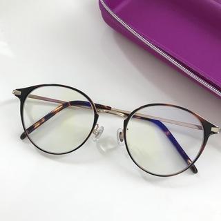 ブルーライトカットのメガネ、買いました♩
