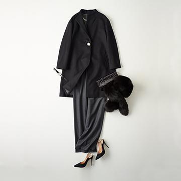 「スキャパ」の上質コートで大人の品格を