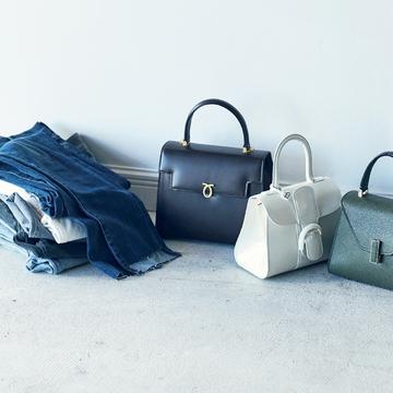 きれいなバッグは大人をきれいに見せる!デニムスタイルに至高のバッグ 五選