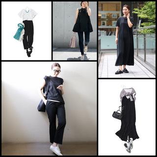 【真夏こそ映える黒コーデ】重たく見えず、シックに決まるアラフォーの黒コーデまとめ|40代ファッション