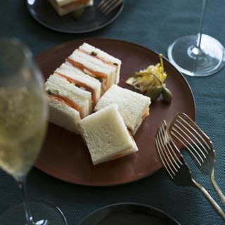 シャンパーニュに合う一口サイズの大人サンドイッチ【平野由希子のおつまみレシピ #3】