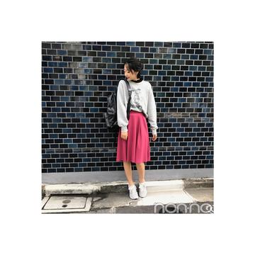 武田玲奈はフレアスカートをおしゃれにカジュアルダウン 【毎日コーデ】