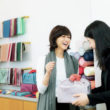 2.たおやかな贈り物の習慣、包む文化を伝える『好好堂』