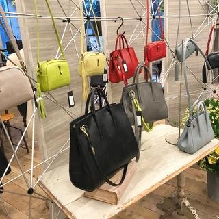 【TOFF&LOADSTON】2018春夏はきれい色のお仕事バッグが勢ぞろい!