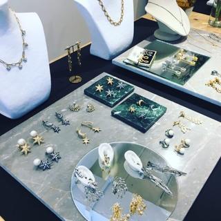 ジュエリーブランド、ADER.bijouxの展示会へ♪