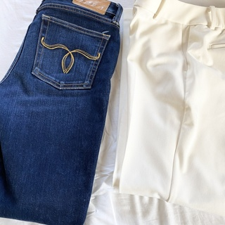 今年1番に買い足したPLSTのパンツとマウジーのジーンズ