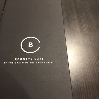 バーニーズがカフェをオープン☕︎『 BARNEYS CAFE by the Cream of the Crop Coffee』